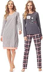 bis zu 40% reduziert: Damen Schlafanzüge & Nachthemden