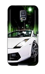 New Tpu Hard Case Premium Galaxy S5 Skin Case Cover(lamborghini Gallardo Spyder)