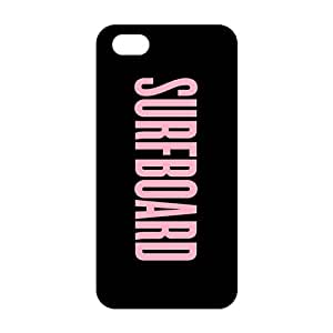 Evil-Store Pink surfboard motto 3D Phone Case for iPhone 5s