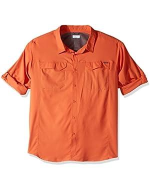 Men's Big-Tall Silver Ridge Lite Long Sleeve Shirt, Tuscan, 3X
