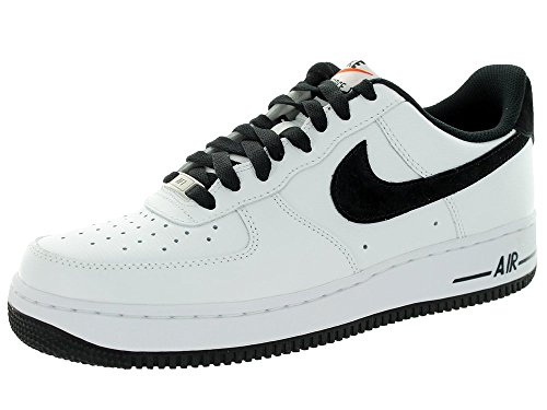 Nike Men's Air Force 1 Cool Grey/Black/White Basketball Shoe 13 Men US