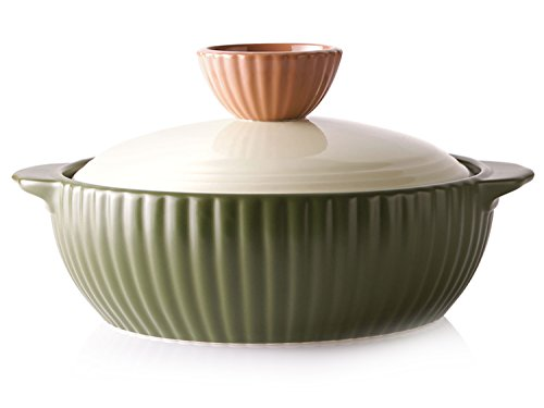 Ceramic Olive (Neoflam Mystic Valley 2QT Stovetop Ceramic Cookware, Olive Green)