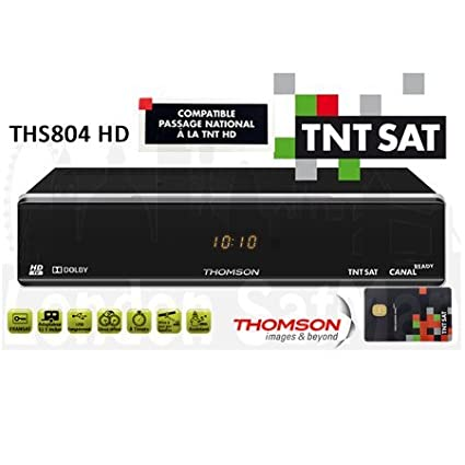 TNTSAT HD decoder and viewing card  PVR Ready certified French satellite TV  receiver UK stock