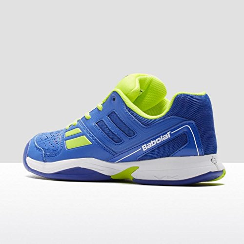 BABOLAT Pulsion All Court Schuhe Kinder, Blau/Gelb, 38.5