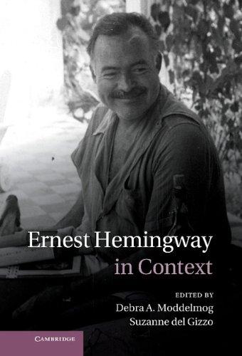 Ernest Hemingway in Context