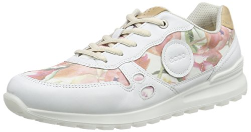 white Ecco Ladies Cs14 Multicolor Multicolore Basses powder59767 Sneakers Print Femme floral xx0r5Aw