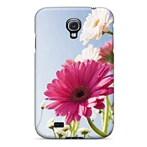 Galaxy S4 Case, Premium Protective Case With Awesome Look - Flowers