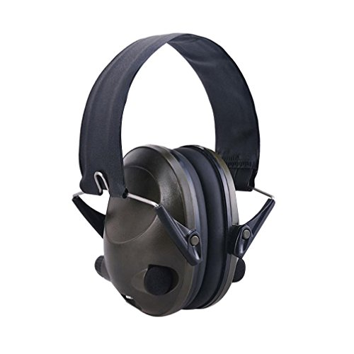 GBSELL TAC 6s Anti-Noise Foldable Ear Earmuff Earphones Outdoor Headset Sport Headphone (Army green)