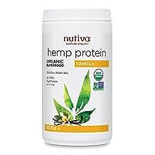 Nutiva Organic Hemp Protein, Vanilla, 16 Ounce