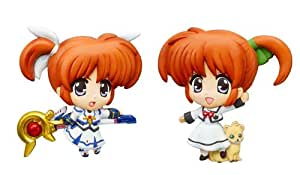 The Mascot Relief Magnet Magical Girl Lyrical Nanoha The MOVIE 1st BOX (japan import)