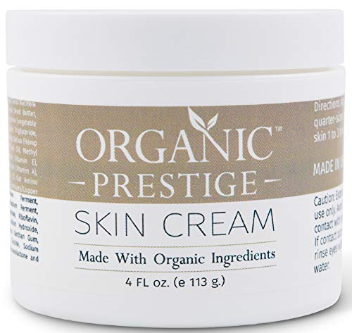 Luxury Anti Aging Face Cream With Coconut Oil and Aloe Vera - Skin Lightening Cream and Dark Spot Corrector for Face - Anti Wrinkle Cream and Face Moisturizer for Dry Skin - Natural & Organic (4 oz)