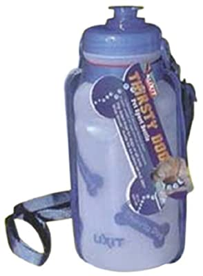 Lixit Thirsty Dog Portable Bottle And Bowl, Colors May Vary by Lixit