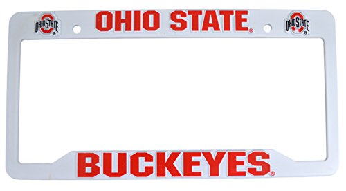 Oregon State Logo Plate (Official NCAA Fan Shop Authentic Plastic License Plate Frame (Ohio State Buckeyes))