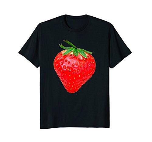 Mens Strawberry Costume Shirt | Strawberry Tshirt Women Girls Tee XL (Strawberry Costume Man)
