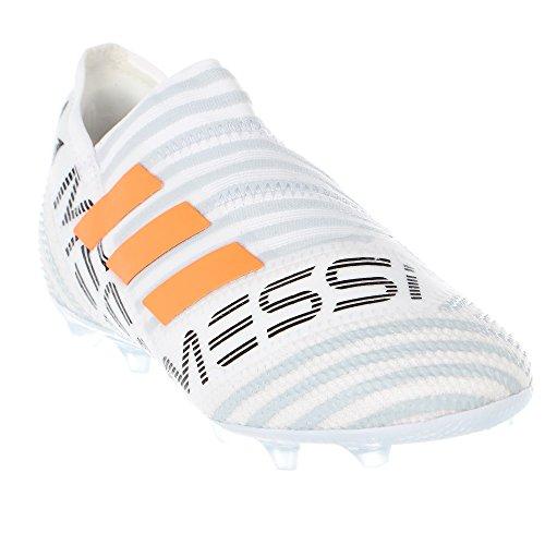 Adidas Kids Messi Nemeziz 17+ 360 Agility Fg Tacchetti Da Calcio Che Eseguono Ftw Bianco / Avvertimento / Chiaro