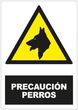 S21 Señalización ADR2405.G Señal precaución perros, Multicolor
