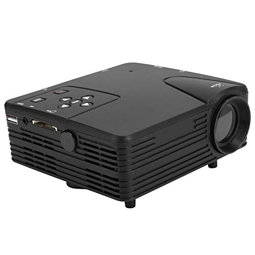 Junluck Full HD 1080P Mini Projector Portable LED Porket Projector Home Theater Video Projector Media Player with 32G Memory Card Indoor & Outdoor Movie Projector for Gaming Business&Education