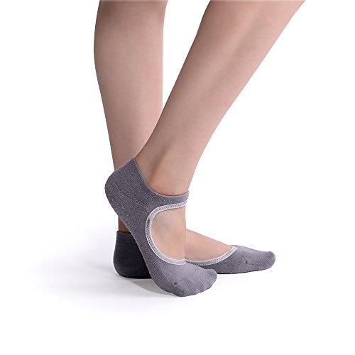 Yoga Socks for Women Non Slip Socks with Grip for Pilates Ballet Barre