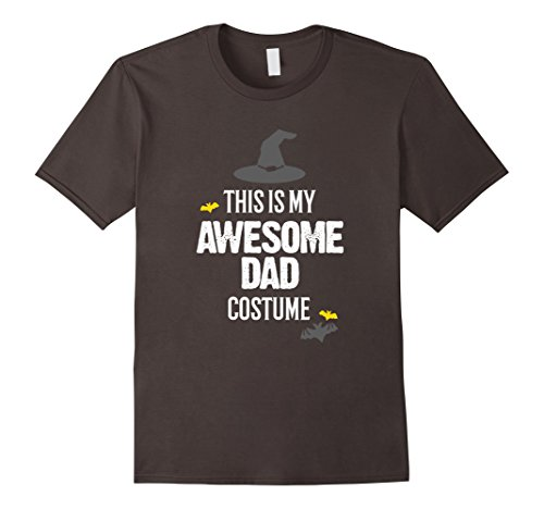 Mens Awesome Dad Halloween Costume T-Shirt Large (Awesome Halloween Costumes For Men)