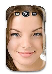 Galaxy S3 LDniwgH5640KixrL Women Face Tpu Silicone Gel Case Cover. Fits Galaxy S3
