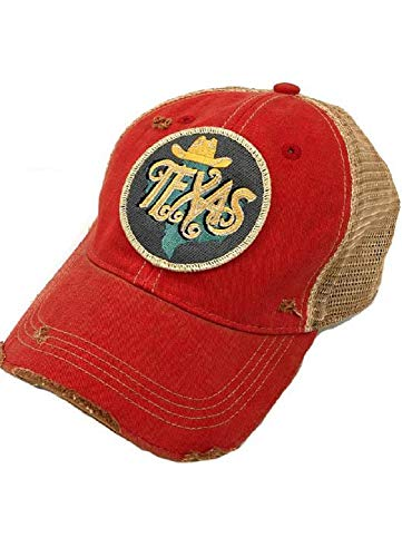 (Judith March Metallic Texas Patch - RED)