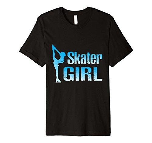 Cute Ice Skater Gift Tee -Figure Skating Girl Shirt ()