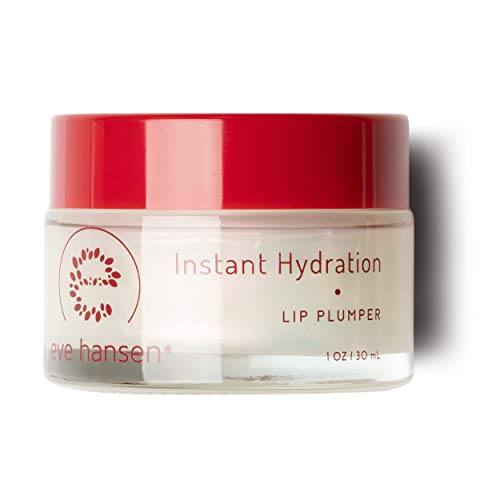 Eve Hansen Lip Plumper Dry Lips Treatment | Lip Moisturizer with Safflower Oil and Castor Oil | Lip Enhancer and Plumping Lip Gloss to Hydrate, Condition and Enhance Lip Fullness | 1 oz ()