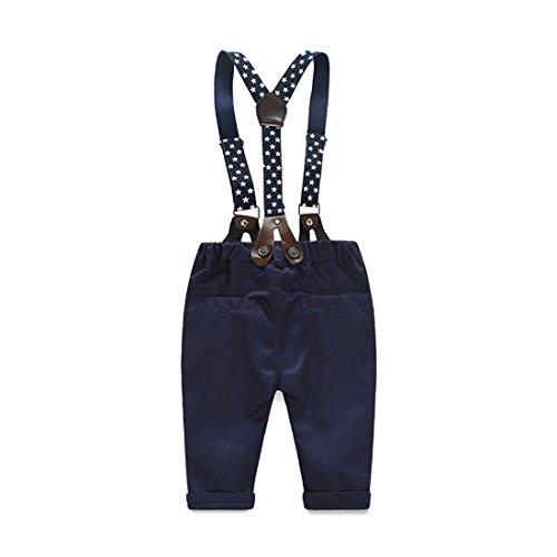 0a973ec65 Cute 2PCS Newborn Baby Boy Top Plaid Shirt +Bid Pants