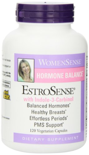 Natural Factors EstroSense Veg-Capsules, 120-Count