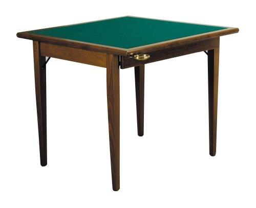 Spieltisch Poker 90 Noce (Finitura del legno)