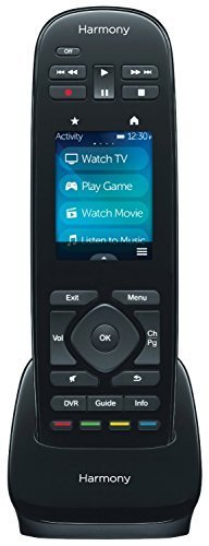 Logitech Harmony Ultimate One IR Remote With Customizable Touch Screen Control, Black (Renewed) (Xbox 360 Power Pack Bundle W Charge Base)