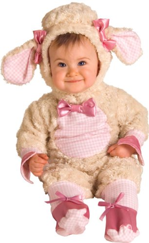 [Lucky Lil Lamb Costume - Baby 12-18] (Lamb Costumes For Toddler)