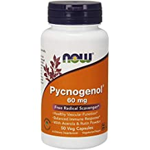 NOW Pycnogenol 60 mg,50 Veg Capsules