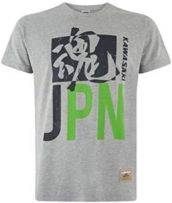 Kawasaki Japón Camiseta Hombre Gris - 2XL: Amazon.es: Coche y moto