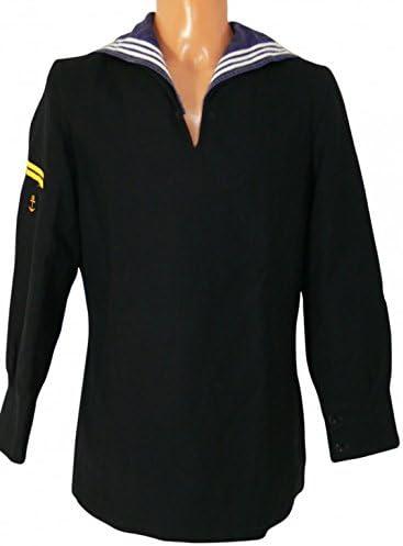 Ejército para hombre camisa de marinero azul oscuro talla 44 getr, a ...