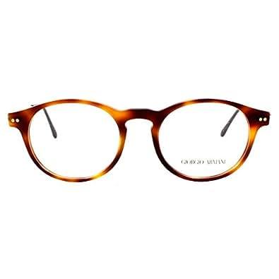 Amazon.com: GIORGIO ARMANI Eyeglasses AR 7010 5022 Havana ...