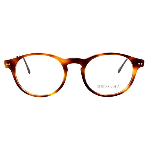 Giorgio Armani Montures de lunettes 7010 Pour Homme Black / Gold, 47mm 5022: Tortoise / Gold