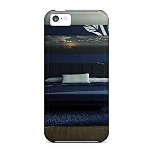 LastMemory Case Cover Skin For Iphone 5c (beautiful Modern Bedroom Design)