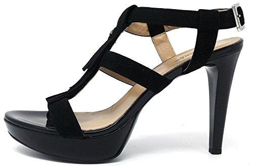 Nero Giardini 717880D Negro, Sandalias, Mujer