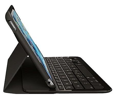 Funda con teclado para iPad Mini 4 QWERTY español, color negro: Logitech: Amazon.es: Informática