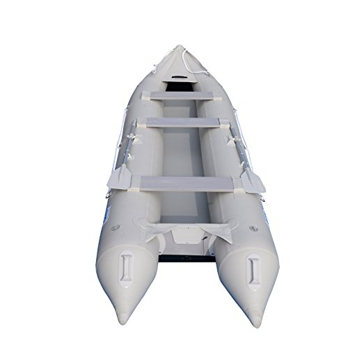 BRIS 15.4Ft Inflatable Kayak Fishing Tender 4 Person Kayaks Canoe Dinghy