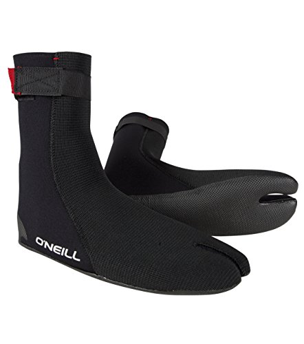 (O'Neill Ninja 3mm Booties, Black,)