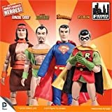 super friends retro 8 inch action figures series one, full set