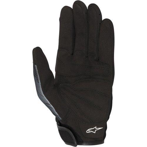 Alpinestars Mech Pro Men's Textile Street Bike Racing Motorcycle Gloves - Black/Gray / Large