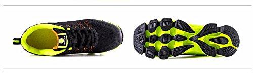 Mzcurse Mens Casual Running Fashion Sneakers Versatili Scarpe Da Ginnastica Sportive Gialle