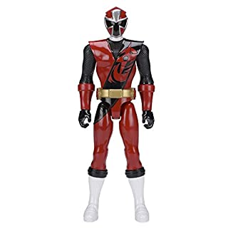 Power Rangers 43621 Ninja Steel 30cm Red Ranger Figure