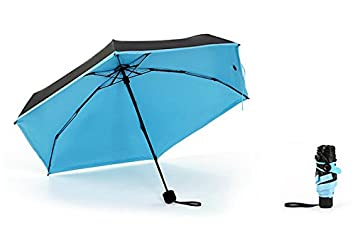 cuzit Ultra Mini bolsillo paraguas anti-UV sol parasol-blue