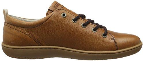Birkenstock Islay Damen, Zapatos de Cordones Derby para Mujer Marrón (Nut)