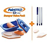 Paint Pad Pro Bumper Paint Pad Set c/w Optional Extension Pole and 4 Additional Pads. Recommended by TV DIY Expert Tommy Walsh by Paint Pad Pro