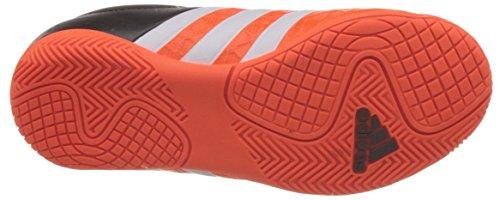 adidas ACE 15.4 IN J - Botas para niño Naranja / Blanco / Negro